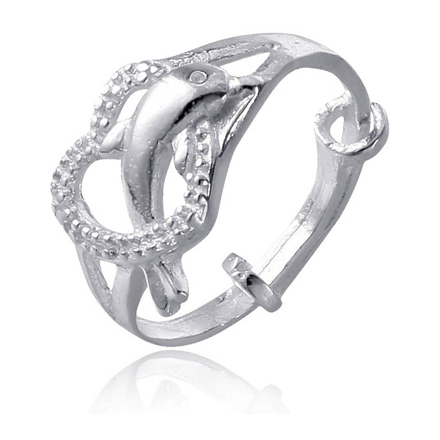 Picture of 925 Silver Jewelry,Kids Ring- SR-480