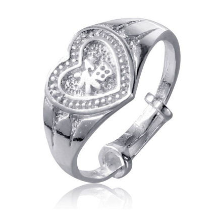 Picture of 925 Silver Jewelry,Kids Ring- SR-482