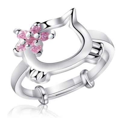 Picture of 925 Silver Jewelry,Kids Ring- SR-483
