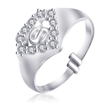 Picture of 925 Silver Jewelry,Kids Ring- SR-487
