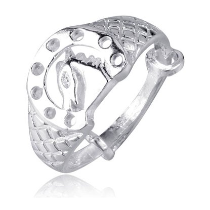 Picture of 925 Silver Jewelry,Kids Ring- SR-488