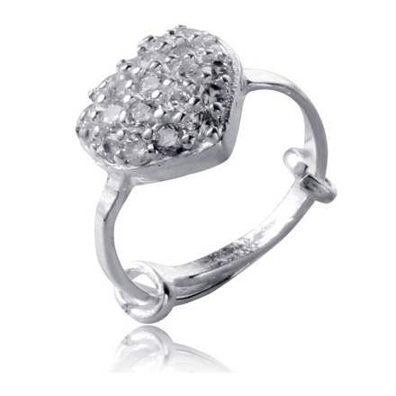 Picture of 925 Silver Jewelry,Kids Ring- SR-490