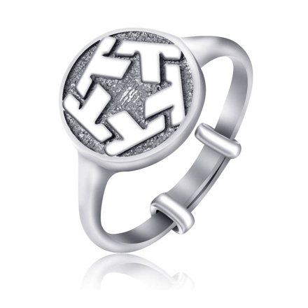 Picture of 925 Silver Jewelry,Kids Ring- SR-492