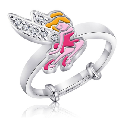 Picture of 925 Silver Jewelry,Kids Ring- SR-495