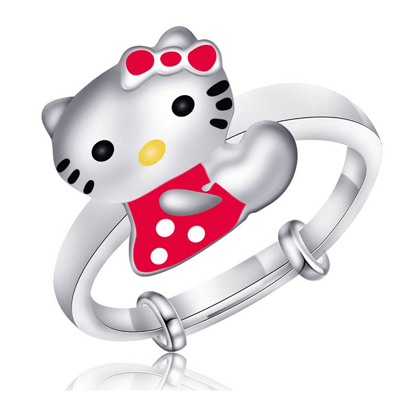 Picture of 925 Silver Jewelry,Kids Ring- SR-496