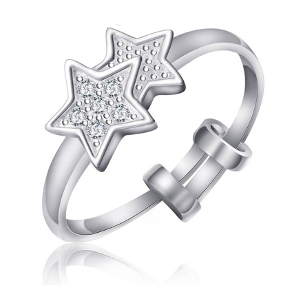 Picture of 925 Silver Jewelry,Kids Ring- SR-497