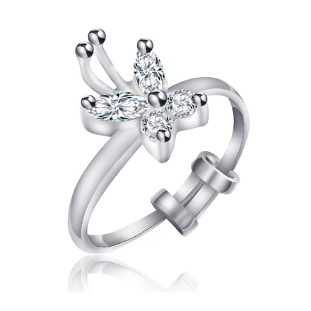Picture of 925 Silver Jewelry,Kids Ring- SR-499