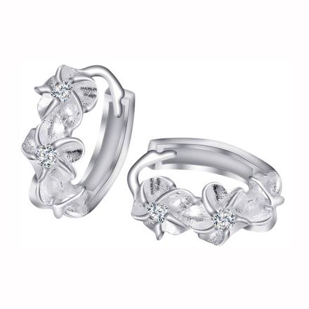 图片 925 Silver Jewelry,Clip Earrings- ER-473