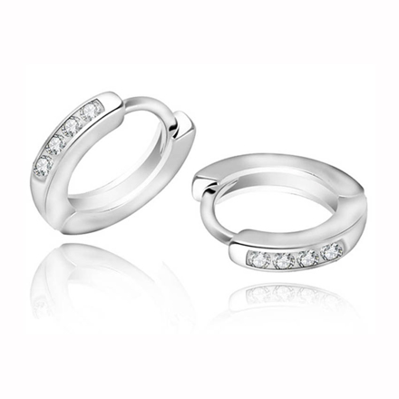 图片 925 Silver Jewelry,Clip Earrings- ER-478