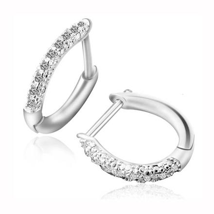 图片 925 Silver Jewelry,Clip Earrings- ER-486