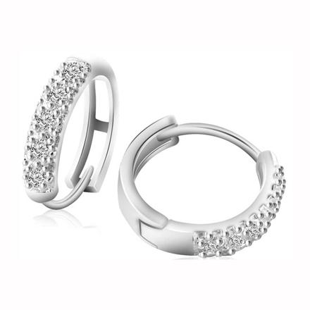 图片 925 Silver Jewelry,Clip Earrings- ER-492