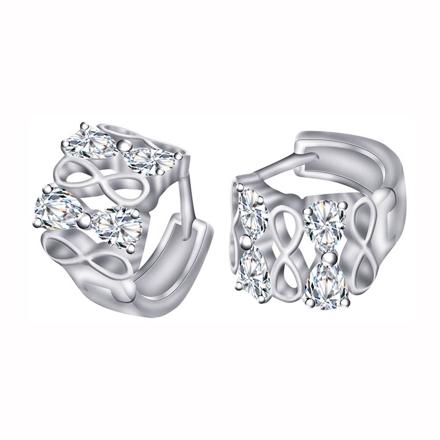图片 925 Silver Jewelry,Clip Earrings- ER-496