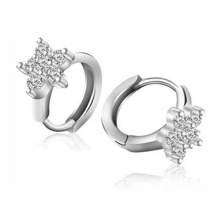 图片 925 Silver Jewelry,Clip Earrings- ER-508