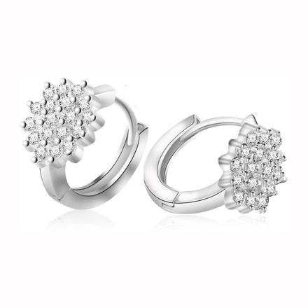 图片 925 Silver Jewelry,Clip Earrings- ER-510