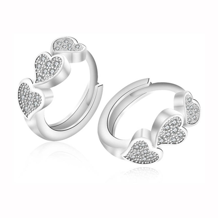图片 925 Silver Jewelry,Clip Earrings- ER-519