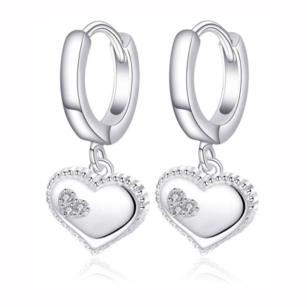 图片 925 Silver Jewelry,Clip Earrings- ER-536
