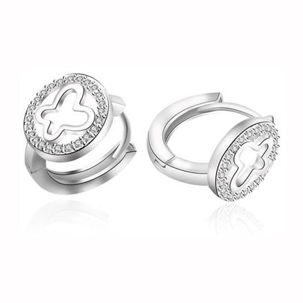 图片 925 Silver Jewelry,Clip Earrings- ER-538