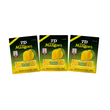 图片 7D Dried Mangoes (100g) ,Cebu Dry mangoes,Pack of 3