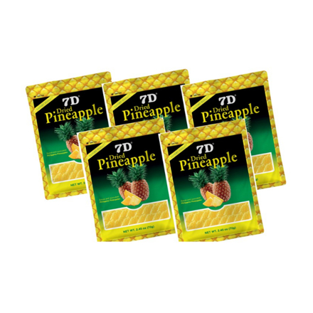 图片 7D Dried Pineapple (70g) Pack of 5Pcs