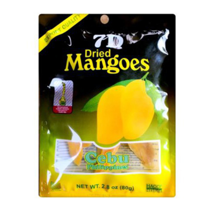Picture of 7D Dried Mangoes , Cebu 7D Dried Mangoes ( 80 grams)