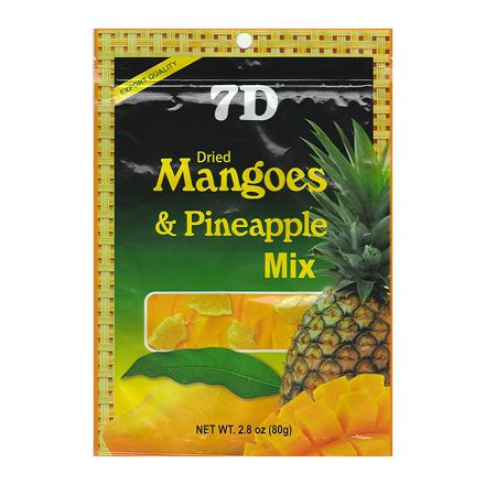 图片  7D芒果和菠萝干混合物(80克/包)