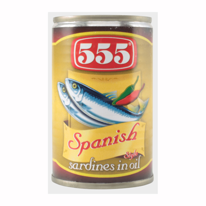 Picture of 555 Sardines Spanish Style 155g