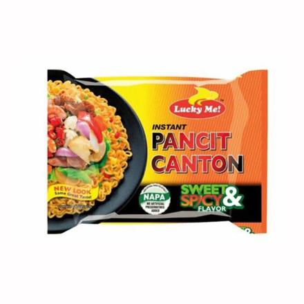 图片 Lucky Me Pancit Canton Sweet & Spicy  Flavor 80g