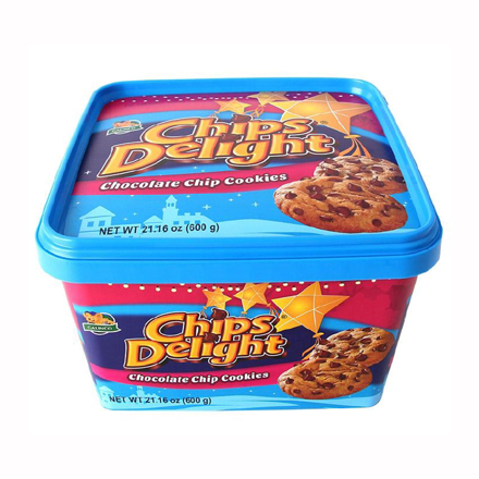 图片 Chips Delight Chocolate Chip Cookies Tub 600g