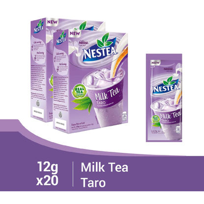 Picture of Nestea Milk Tea Taro 12g (Box of 10) - Pack of 2