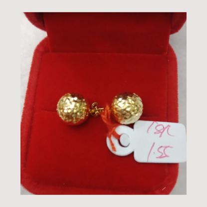 Picture of 18K - Saudi Gold Earrings 1.55g- SE155G