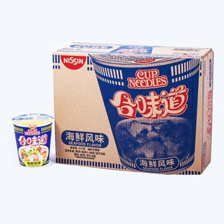 图片 合味道海鮮杯麵71g/杯(12杯/箱)