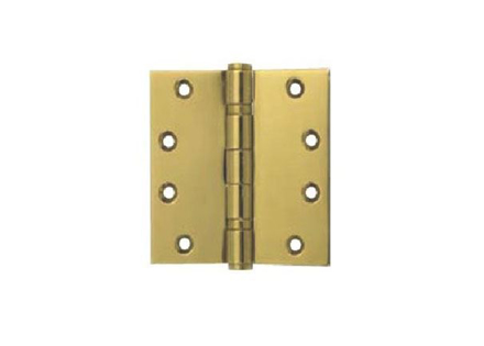 图片 Yale 2 Ball Bearing Button Tipped Door Hinge 2BB 4x4X2 MM PVDB'