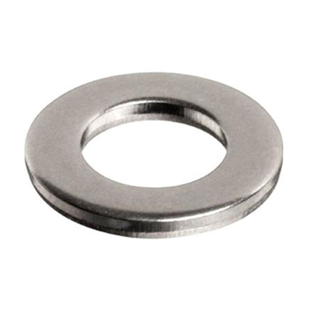 图片 10Pcs Stainless Flat Washer, 304 Stainless Flat Washer - Inches Size