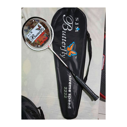 Picture of Butterfly Carbonex 15P, Xtreme Speed 222, High Modulus Carbon Graphite Badminton Racket, One Piece, U04BRCG