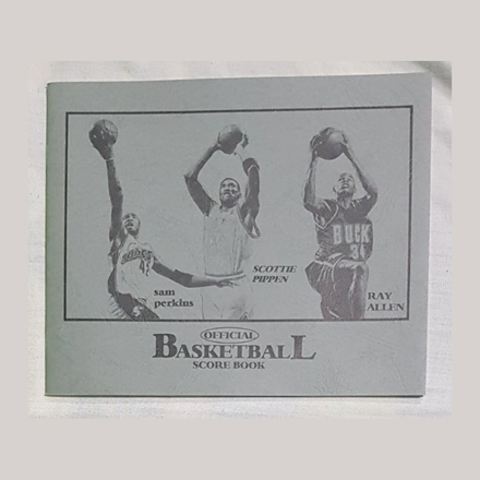 图片 Small Official Basketball Score Book, U04SOBSB