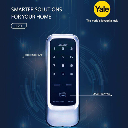 图片 Yale J20, Digital Door Lock, YALEJ20