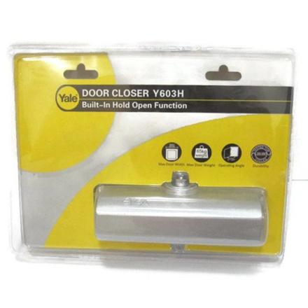 图片 Yale Y603H Series Door Closer, Silver, Y603HSIL