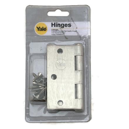 图片 Yale V1135 US15, Heavy Duty Loose Pin Hinges, Satin Nickel, V1135US15