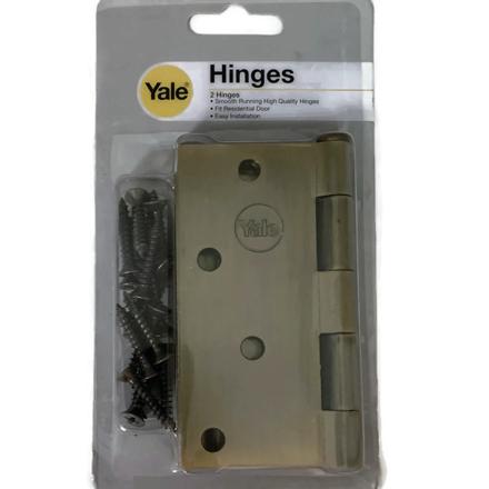 图片 Yale V1140 US5, Heavy Duty Loose Pin Hinges, Antique Brass, V1140US5