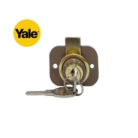 图片 Yale 9660HE, Two-Hole Drawer Lock, V9660HE
