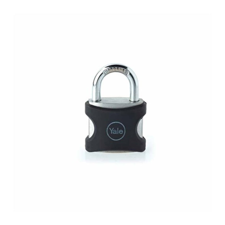 圖片 Yale YE3/25/141/1BK, Long Shackle Aluminum Series Padlock, YE3251411BK