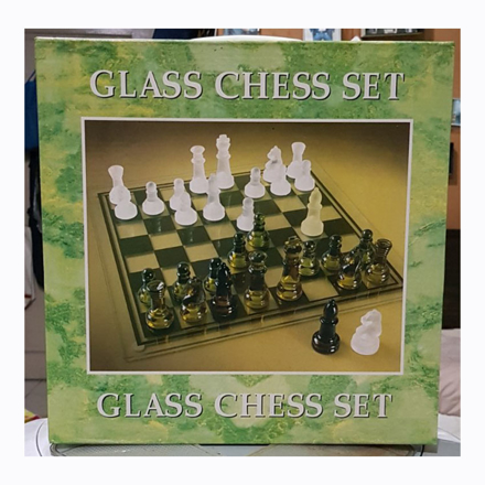 圖片 Glass Chess Set, U04GCS