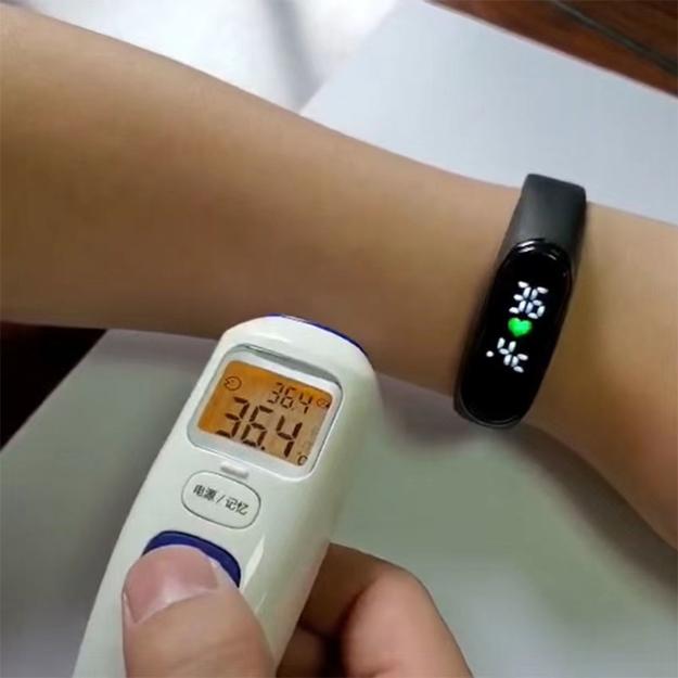 圖片 Smart Digital Watch,Watch w/. Temperature,digital Watch