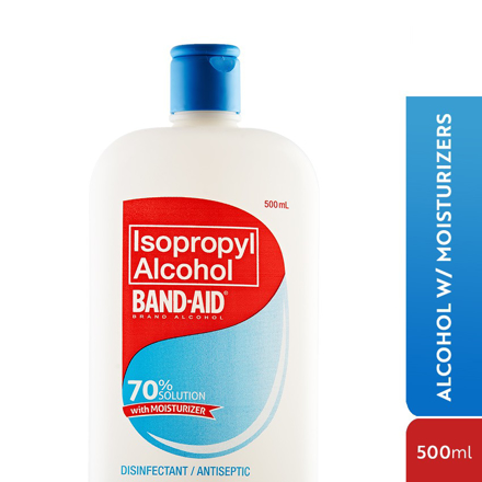 图片 Band Aid Alcohol,Isopropyl Alcohol, 60% Cleaning Solution 500ml