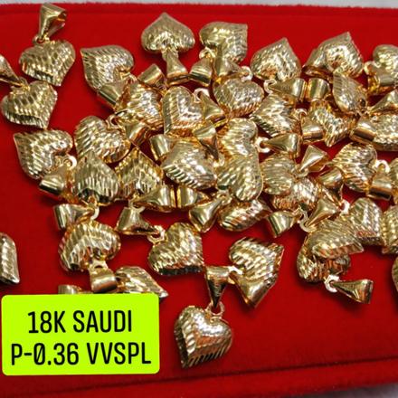 圖片 18K Saudi Gold Pendant, 0.36g, 2805PH