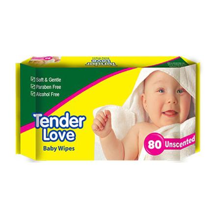图片 Tender Love Baby Wipes Unscented, TEN11
