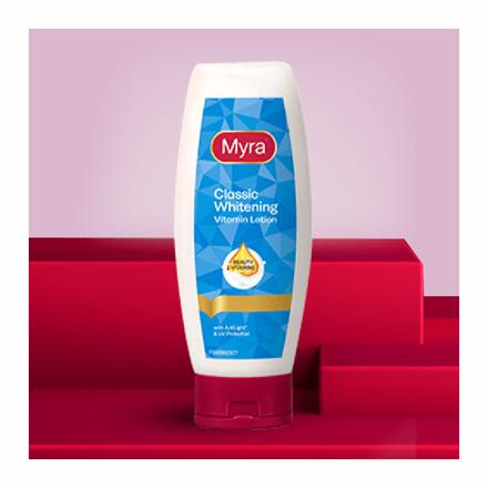 Picture of Myra Classic Whitening Vitamin Lotion, MYR16