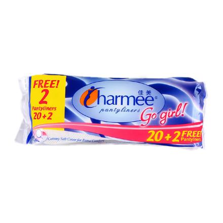 图片 Charmee  Pantyliners Go Girl 20+2 Free Pantyliners,  CHA125A