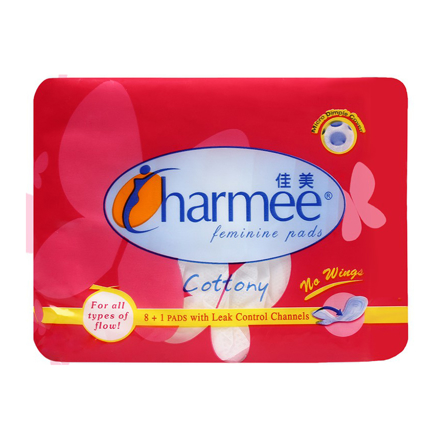 圖片 Charmee Sanitary Napkin for All Types of Flow without Wings, CHA146