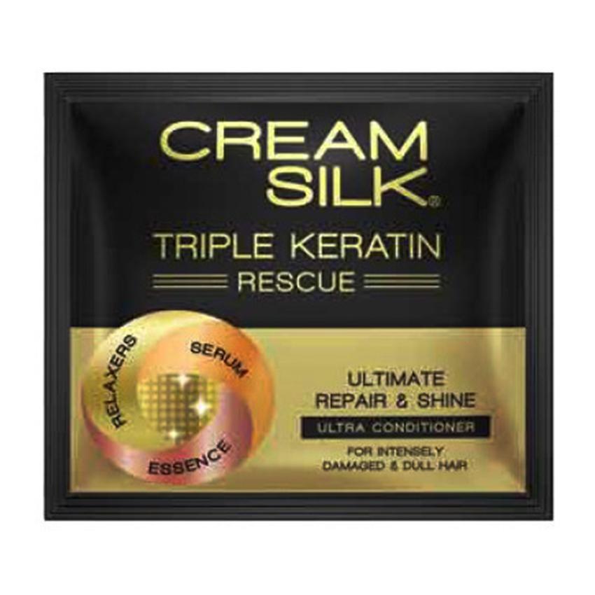 Picture of Cream Silk  Triple Keratin Rescue, CRE66